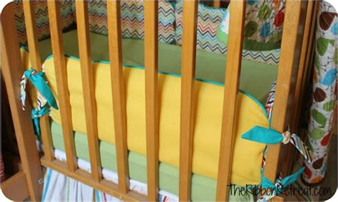 How To Make A Crib by How To Make Crib Bumpers The Ribbon Retreat