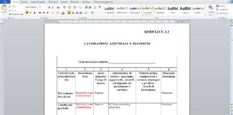 esempio dvr ufficio sicurezza pratica info modelli dvr procedure standardizzate