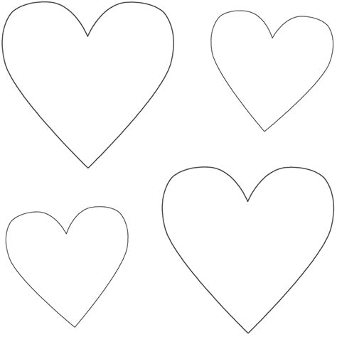 Hearts Coloring Printouts Coloring Part 5 Hearts Coloring Page