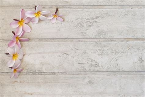 table background color table background with decorative flowers photo free