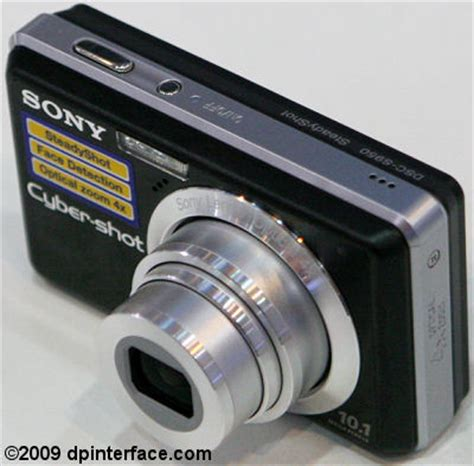 sony cyber shot s950 review – dp interface dp interface