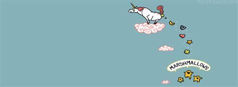 imagenes de unicornios para portada de facebook marshmallows facebook portada facecoverz com