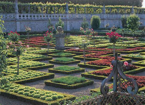 chateau  gardens  villandry  kitchen garden