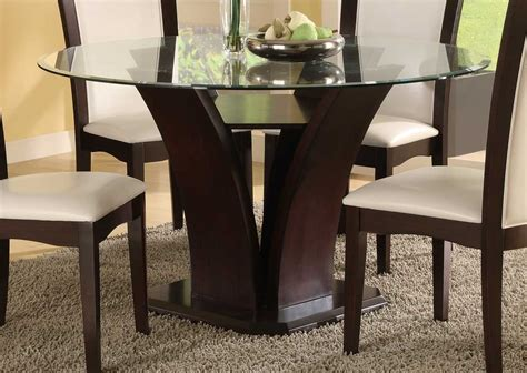 54 round dining table homelegance daisy round 54 inch dining table 710 54