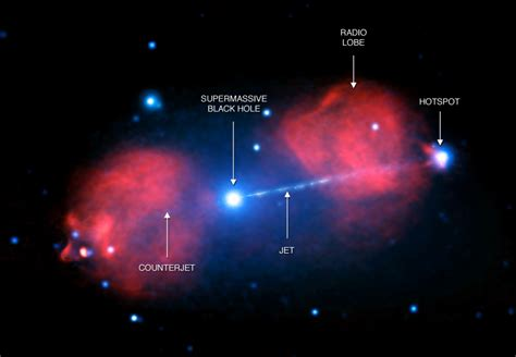 500 Light Years by Blast From Black In Distant Pictor A Galaxy