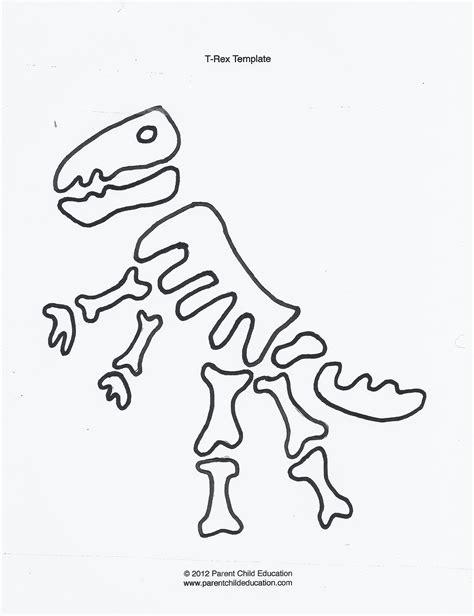 best photos of dinosaur bone template dinosaur bone