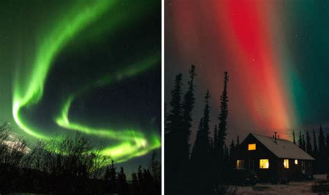 northern lights this weekend northern lights 2018 will the cold weather spark the