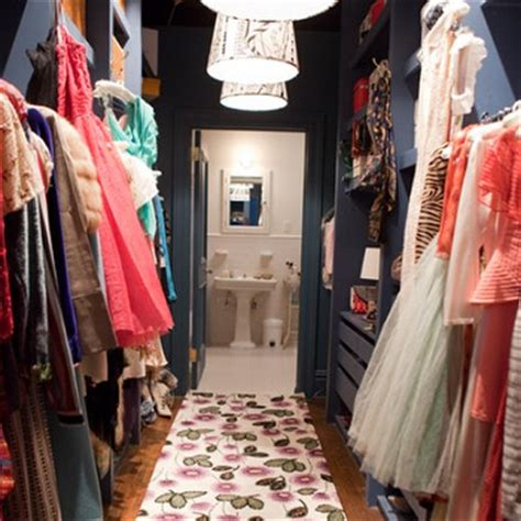 sex and the city bathroom walk through closet design ideas