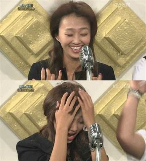 hyorin put on hair sistar s large and cute forehead revealed after losing