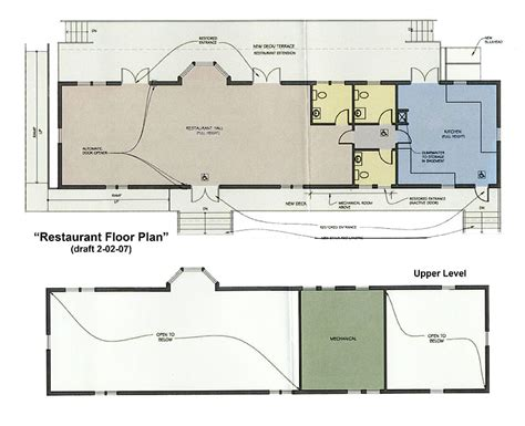 free restaurant floor plan sample restaurant floor plans find house plans