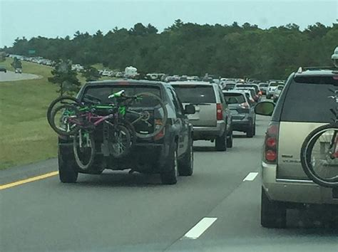 cape cod to boston traffic here s how bad fourth of july traffic is to cape cod