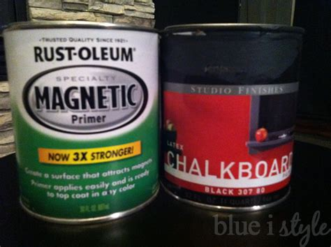 magnetic chalkboard paint dulux diy with style a magnetic chalkboard wall in the kitchen