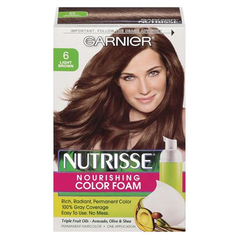 garnier hair colour models garnier nutrisse nourishing nutri browns lightening color
