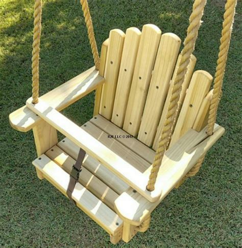 tree swing seat sun burst poplar kids seat wood tree swing