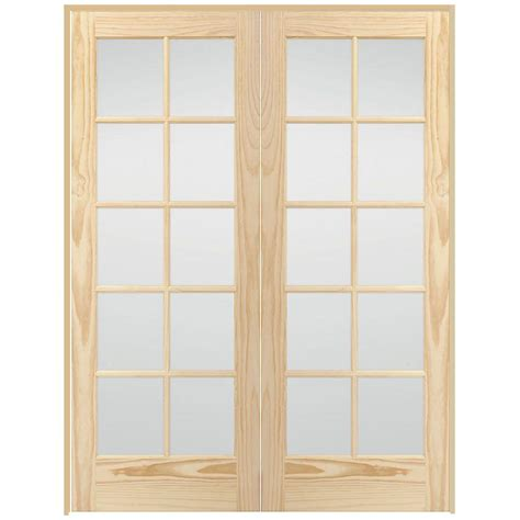Steves Sons 48 In X 80 In 10 Lite Glass Solid Core | steves sons 48 in x 80 in 10 lite glass solid core