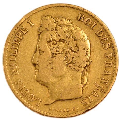 55623 louis philippe i 40 francs or t 234 te laur 233 e ttb