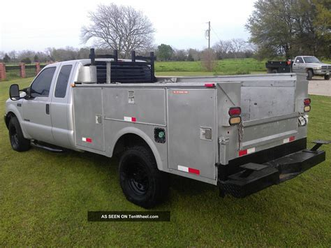 F350 Bed by 2002 Ford F350 7 3 Powerstroke Diesel Service Bed