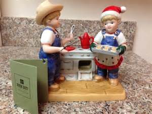 new denim days cookies for santa figurine home interiors
