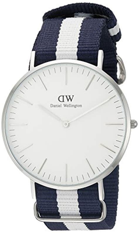 Daniel Wellington Glasgow Silver daniel wellington glasgow silver s quartz with white analogue display and