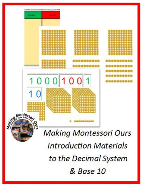 free printable montessori math materials making montessori ours education printables montessori