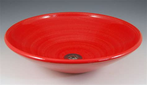 red bathroom sink bowl ed racicot art sinks small bathroom sinks hand painted