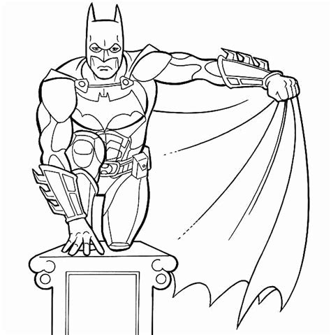 colour drawing free hd wallpapers batman coloring page