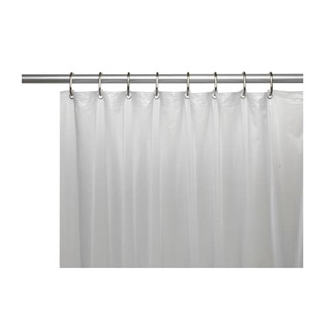 shower curtain stall shower stall sized 5 gauge vinyl shower curtain liner in