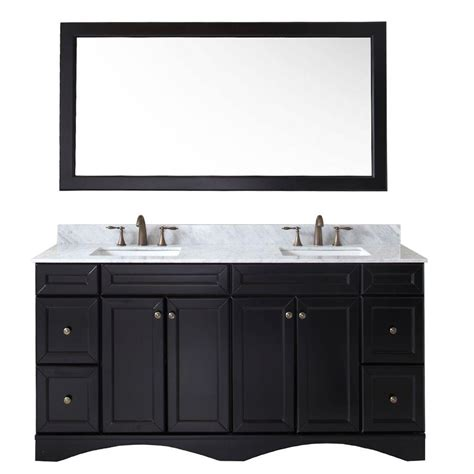 bathroom vanities without tops sinks st paul vanguard 30 in vanity in ebony with alpine top