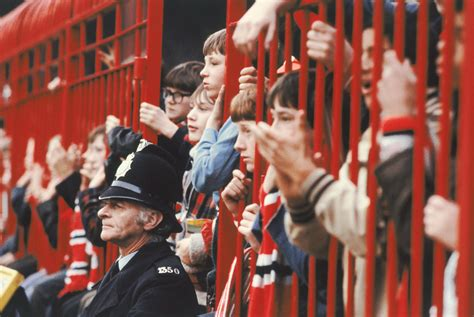 Manchester United Fans faces in the crowd manchester united fans 1948 1980