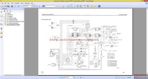 Komatsu Crawler Loader Shop Manual Free Auto Repair Manuals