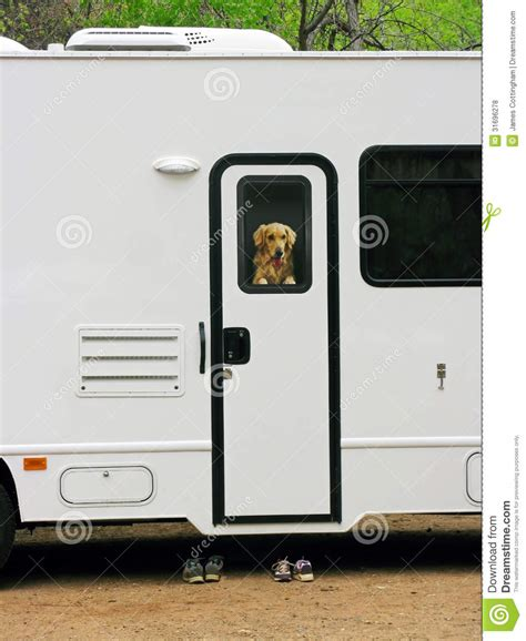 Rv Windows And Doors by Rv Traveler Royalty Free Stock Photos Image 31696278