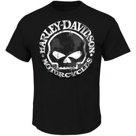 T Shirt Harley Davidson Logo Original hanmeinen s harley davidson motorcycles skull logo black sleeve t shirts fashion