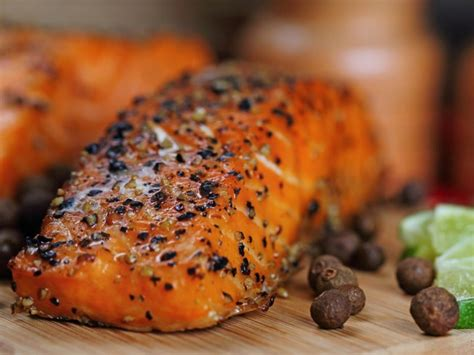 Spicy Skin Salmon 5ptg and spicy grilled food recipes for national spicy food day poolside news