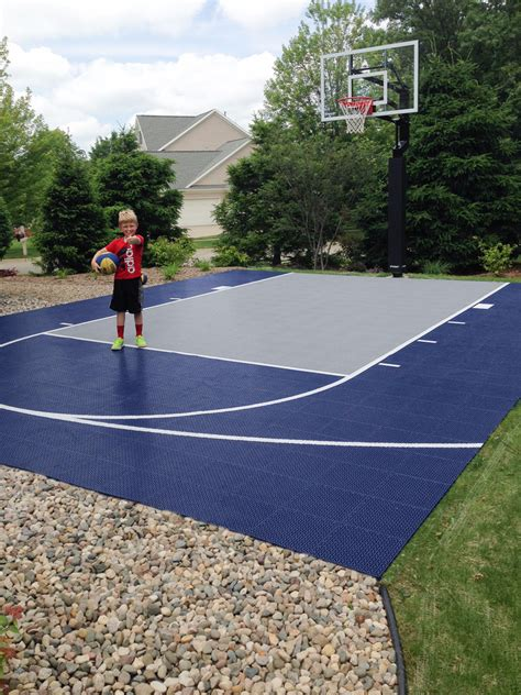 backyard basketball court flooring residential gallery snapsports news