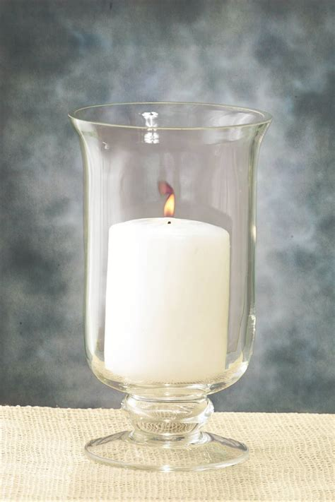 Hurricane Vase Candle Holder by 8in Hurricane Vase Candle Holder