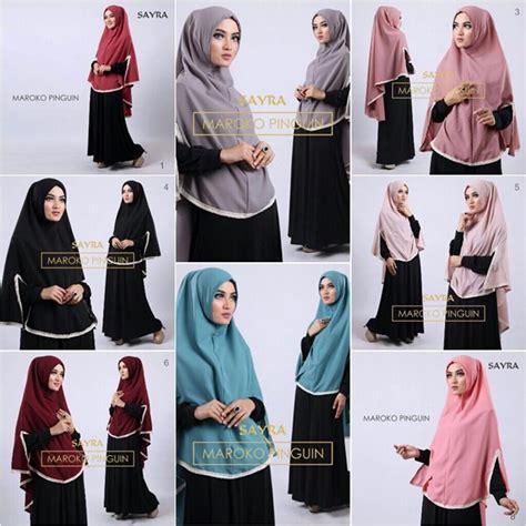 jilbab instan maroko pinguin model terbaru bundaku net