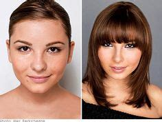 beat bangs for full cheeks and small chin 1000 images about hairstyles i love on pinterest bangs