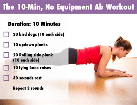 easy ab workouts for most popular workout programs