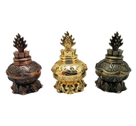 treasure vase stupa alloy dharma items buddhist artifacts