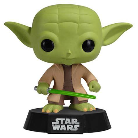 bobblehead yoda figurine yoda wars funko pop
