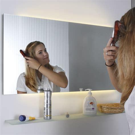 master badezimmerspiegel top light badspiegel inlight mit seitlichem indirektem