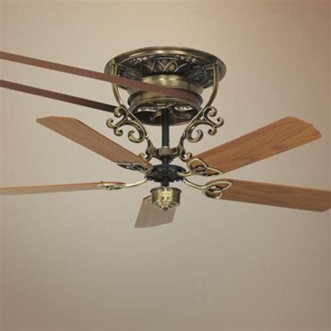 pulley ceiling fan 21 quot fanimation bourbon belt drive brass ceiling fan