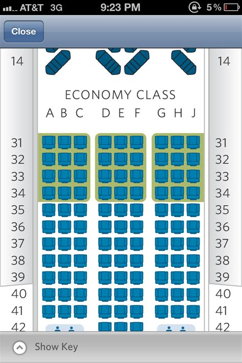 seating chart boeing 777 boeing 777 200er seat map