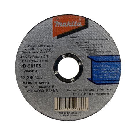 Wheel Makita 4 Inch Cutting Wheel Makita D 40706 makita cutoff wheels upc barcode upcitemdb