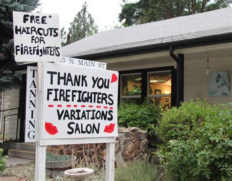 haircuts yreka ca california beaver fire wildfire today