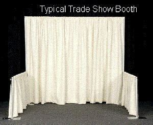 pipe and drape dallas 1000 images about trade show booth ideas on pinterest
