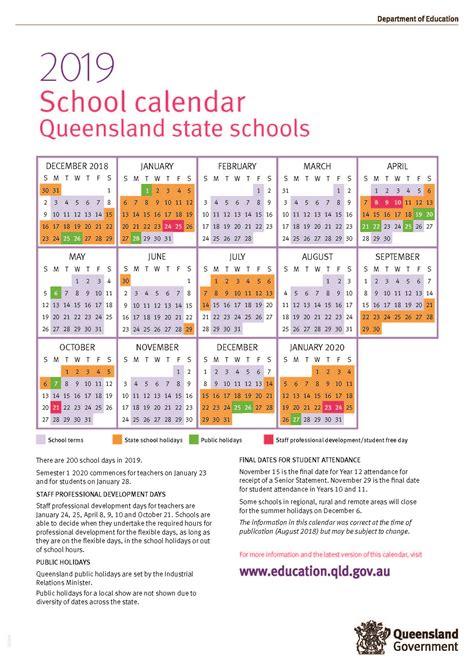 queensland state school calendar