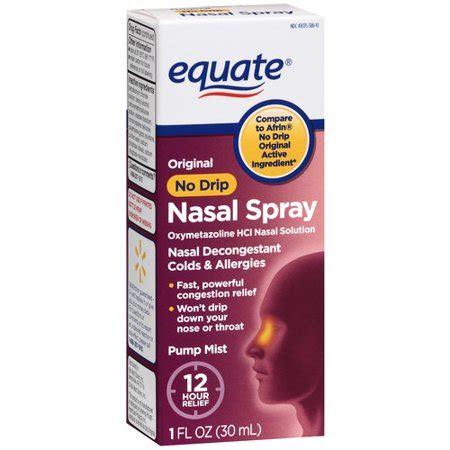 equate: oxymetazoline hydrochloride 0.05% nasal