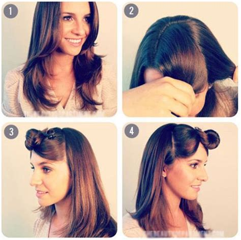back to school hairstyles for curly frizzy hair back to school hairstyle the two simple ponytail