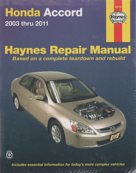 book repair manual 2005 honda accord spare parts catalogs honda accord 2003 2011 haynes service repair manual sagin workshop car manuals repair books
